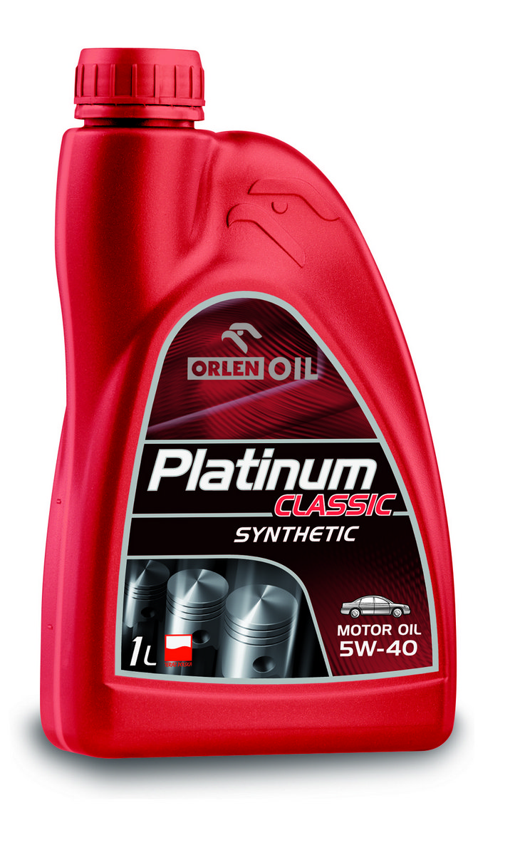 PLATINUM CLASSIC SYNTHETIC 5W/40  1L