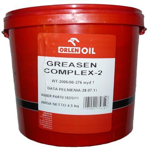 ORLEN OIL GREASEN COMPLEX 2    4,5KG