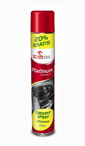 PLATINUM IMPACT COCPIT SPRAY CYTRYNA  600ml