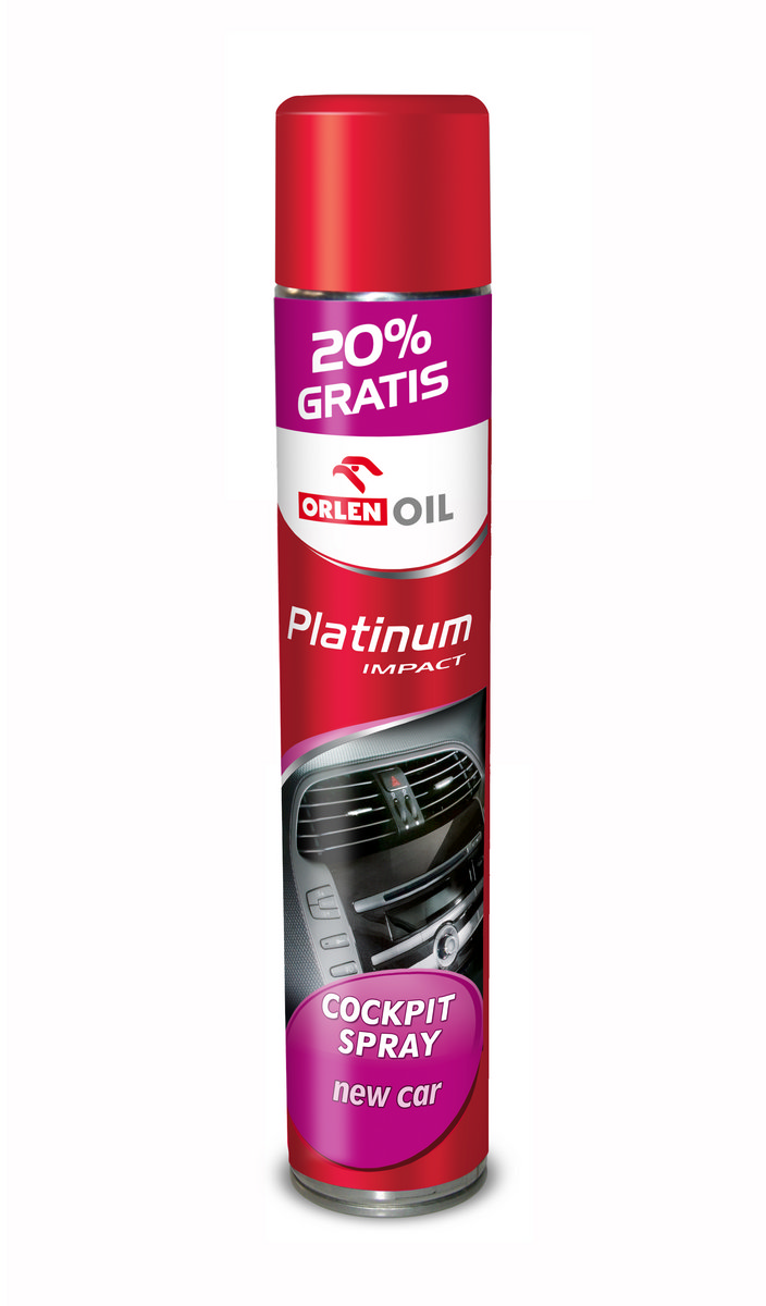 PLATINUM IMPACT COCPIT SPRAY NEW CAR 600ml
