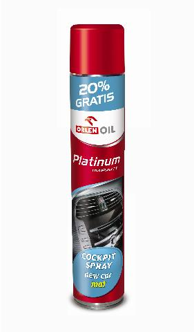 PLATINUM IMPACT COCPIT SPRAY NEW CAR MAT 600ml