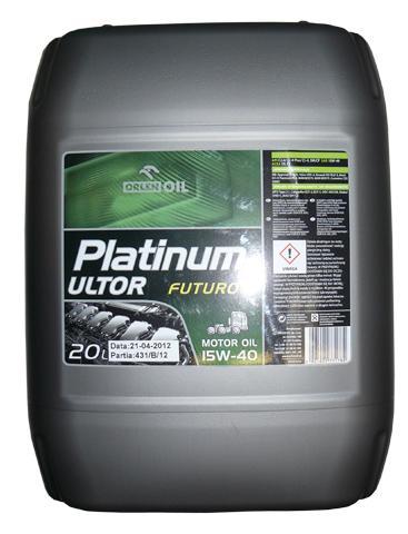 PLATINUM ULTOR FUTURO 15W/40  KP 20L