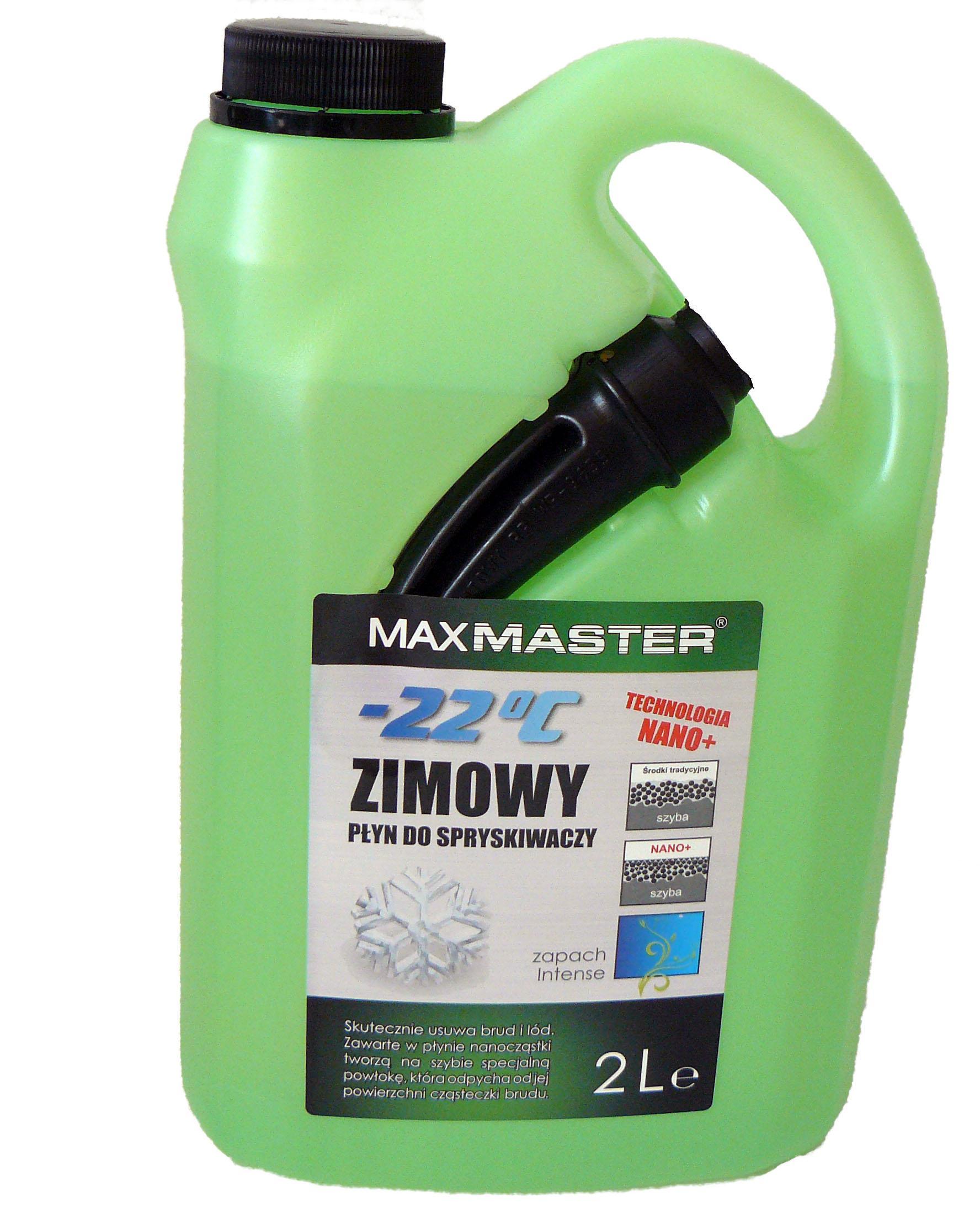 MAXMASTER PŁYN DO SPRYSKIWACZY ZIMOWY -22 C  2L