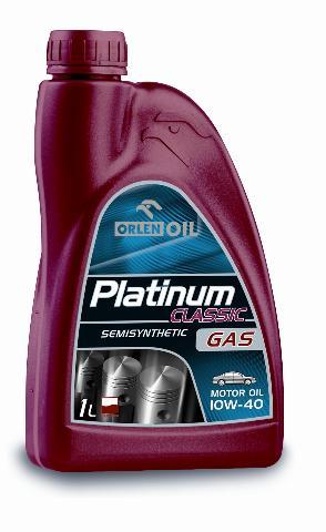 PLATINUM CLASSIC GAS SEMISYNTHETIC 10W/40    1L