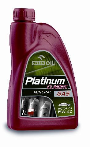 PLATINUM CLASSIC GAS MINERAL 15W/40    1L