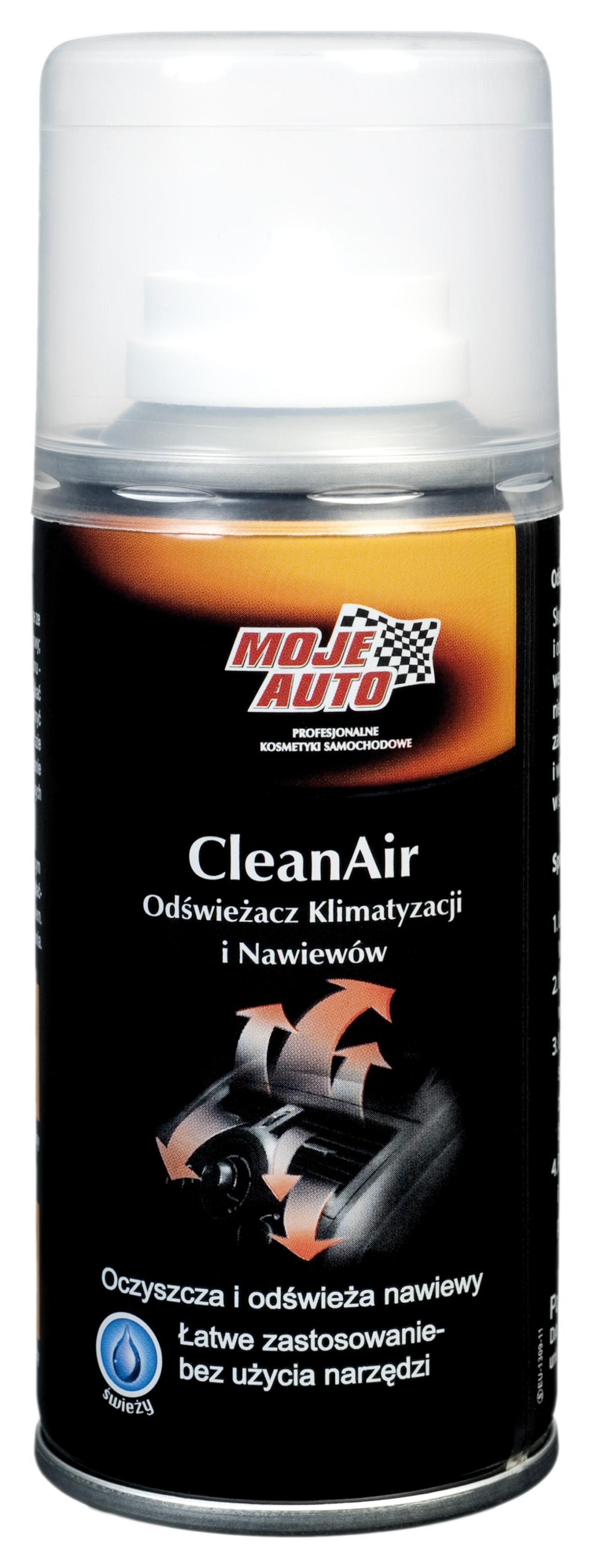 MOJE AUTO CLEAN AIR ODŚWIEŻACZ KLIMATYZACJI I NAWIEWÓW 150ML