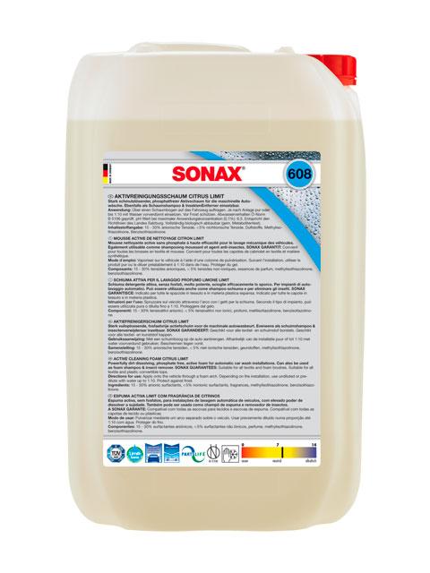 SONAX 608 705  PIANA AKTYWNA CYTRYNOWA 25L