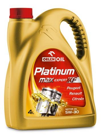PLATINUM MAX EXPERT XF 5W/30   4L