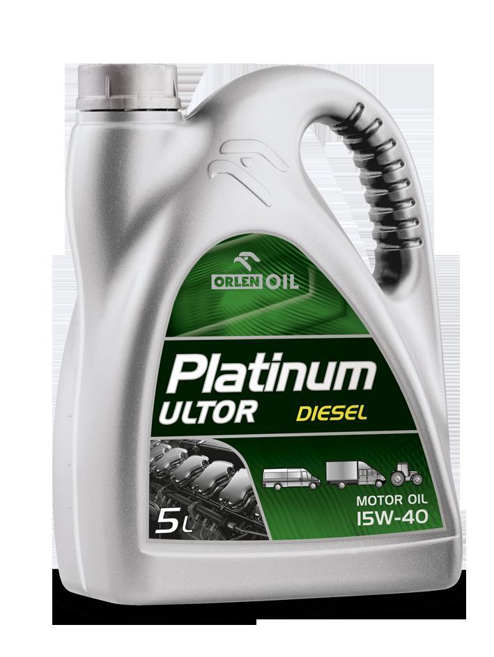 PLATINUM ULTOR DIESEL 15W/40   B5L