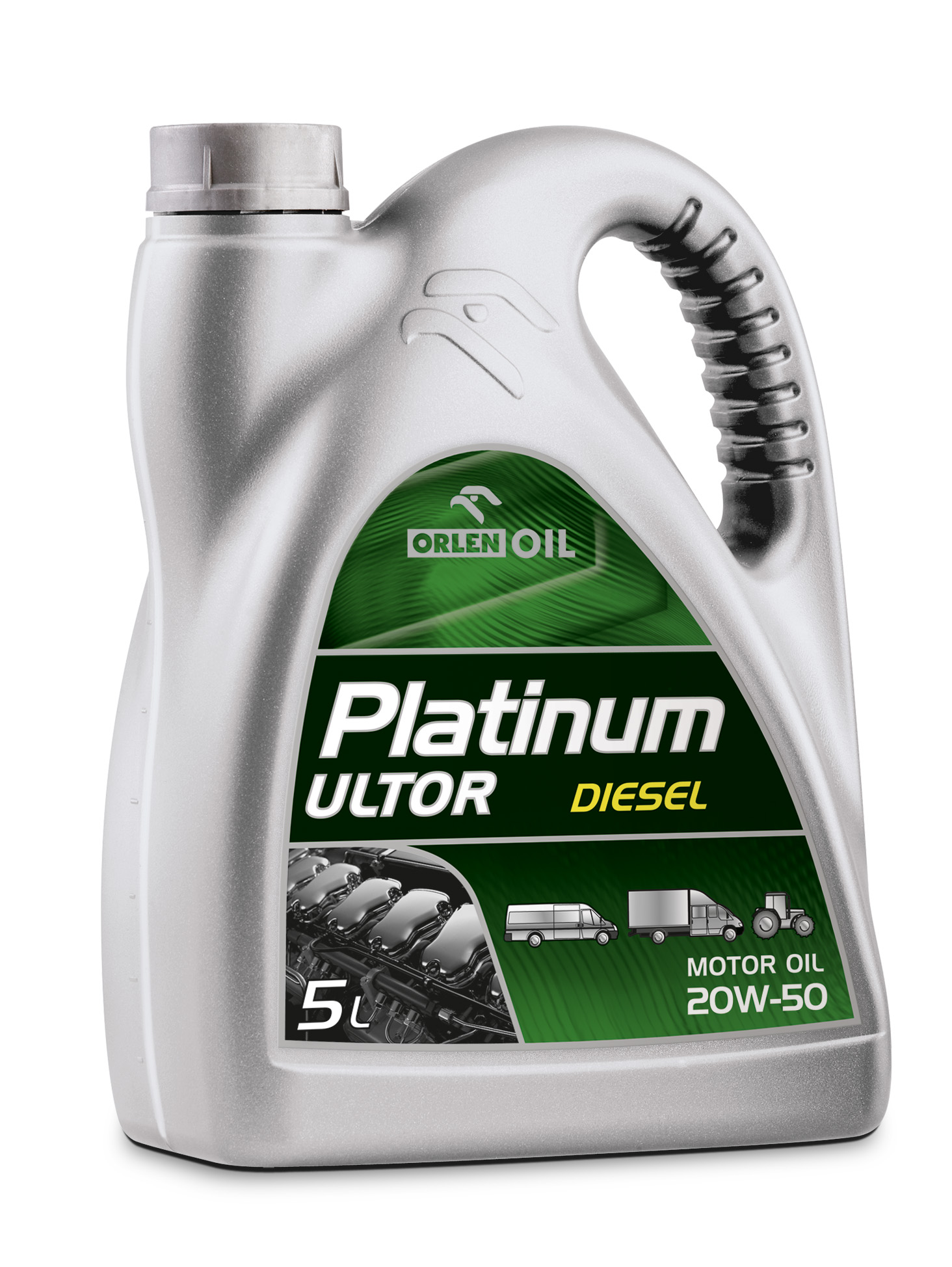 PLATINUM ULTOR DIESEL 20W/50   5L