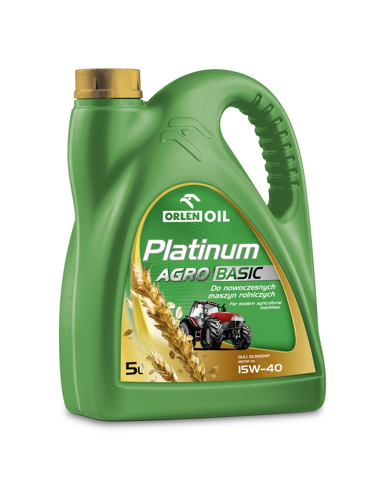 PLATINUM AGRO BASIC 15W/40   5L