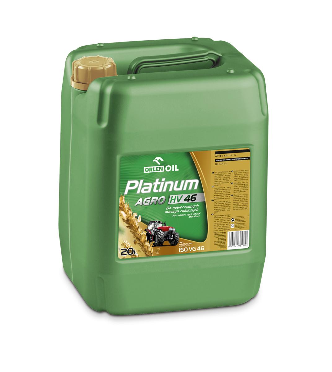 PLATINUM AGRO HV 46   KP 20L