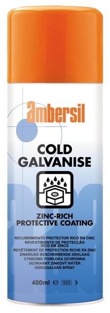 AMBERSIL BRIGHT COLD GALVANISE 400ML - POWŁOKA OCHRONNA CYNKOWA 30292-AA