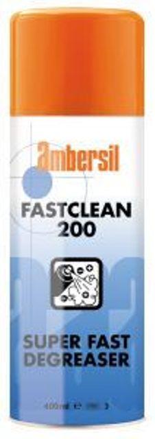 AMBERSIL FAST CLEAN 200 400ML - ODTŁUSZCZACZ BŁYSKAWICZNIE PARUJĄCY 31890-AA