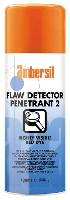 AMBERSIL FLAW DETECTOR PENETRANT 2 400ML - WYKRYWANIE PĘKNIĘĆ  ZESTAW 2