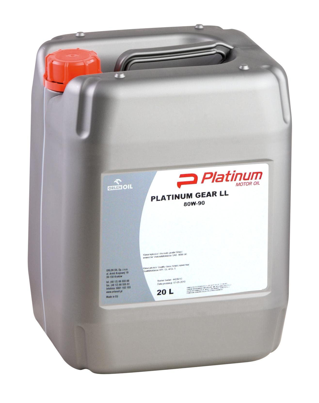 PLATINUM GEAR LL 80W/90    KP 20L