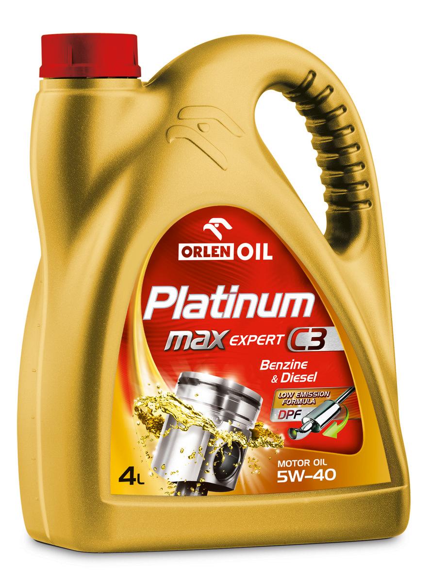 PLATINUM MAX EXPERT C3 5W/40  4L