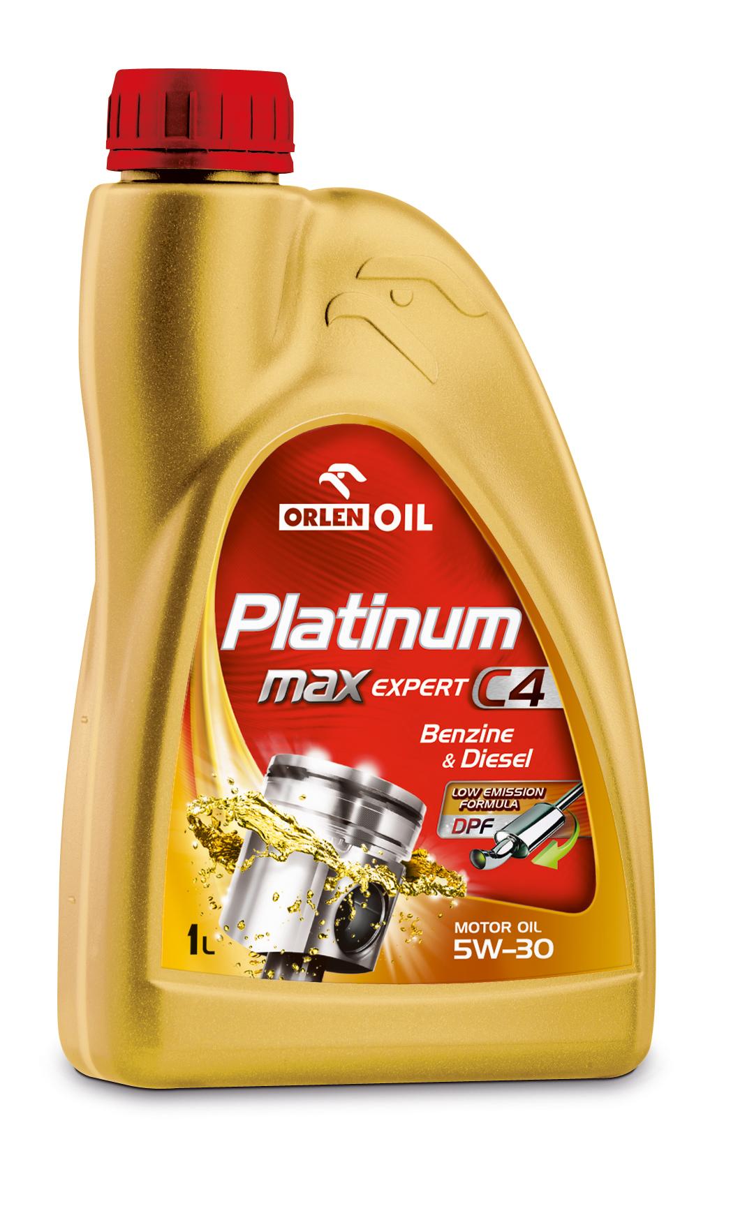 PLATINUM MAX EXPERT C4 5W/30   1L