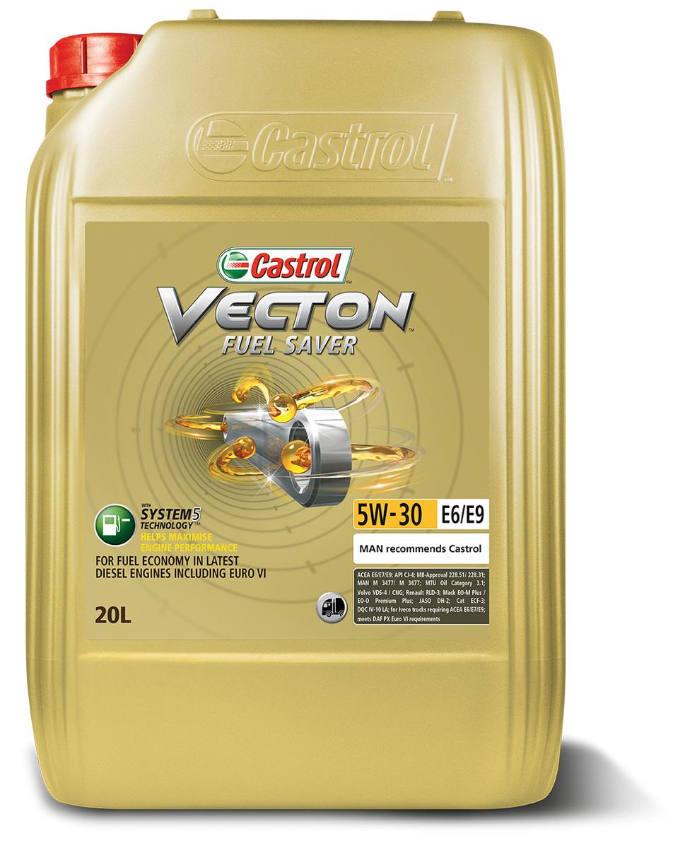 CASTROL VECTON FUEL SAVER E6/E9 5W/30 20L