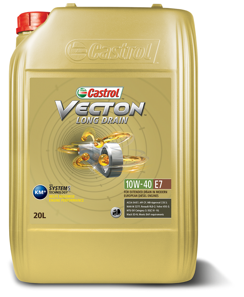 CASTROL VECTON FUEL SAVER E7 5W/30 20L