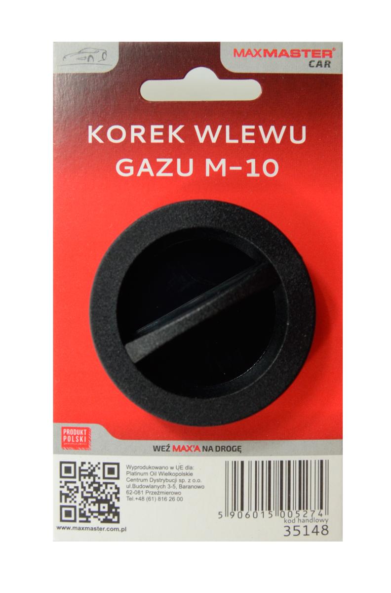 MAXMASTER CAR KOREK WLEWU GAZU M10