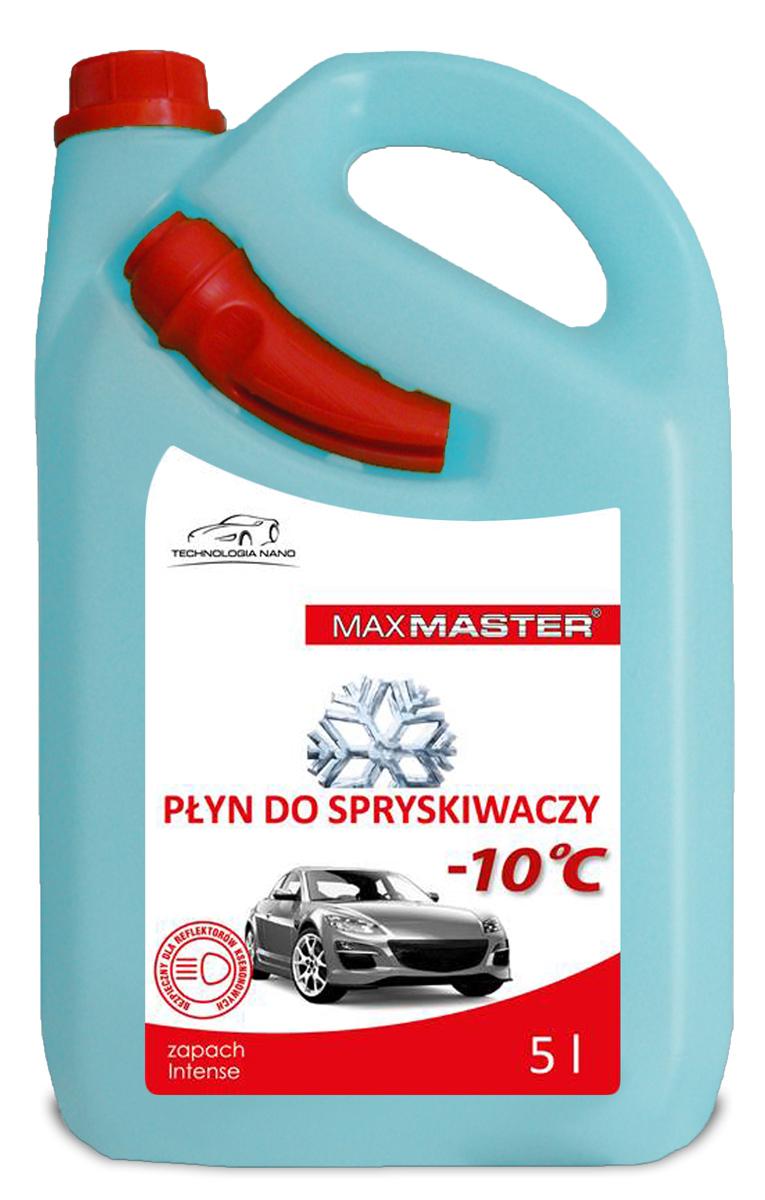 MAXMASTER PŁYN DO SPRYSKIWACZY -10°C 5L  z lejkiem NANO