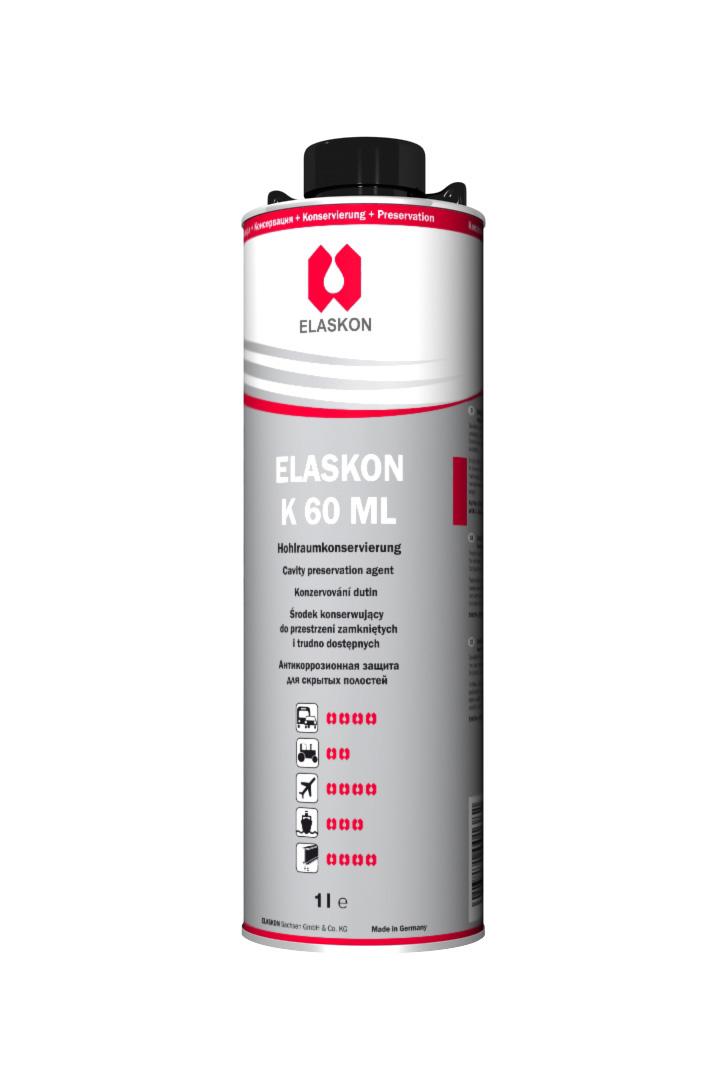 ELASKON K 60 ML 1L