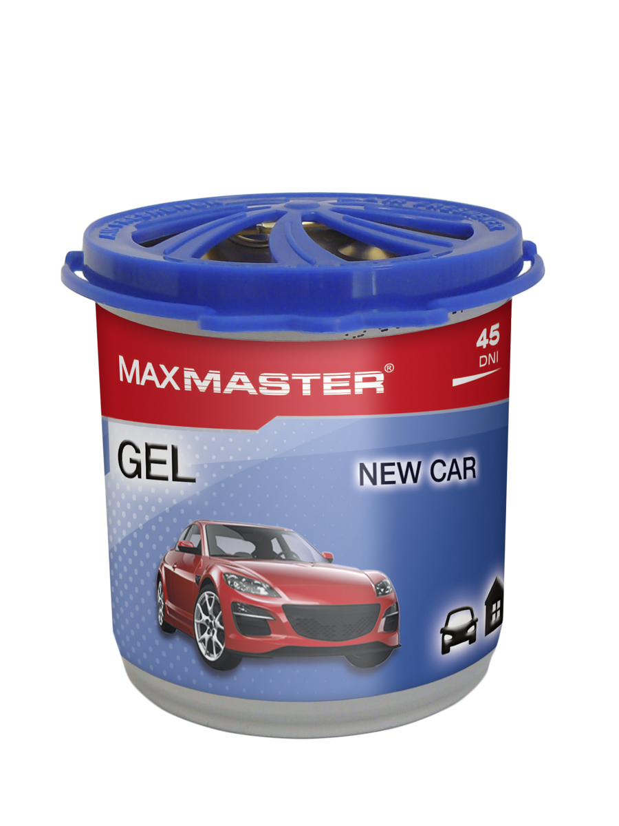 MAXMASTER ZAPACH GEL New Car 160g