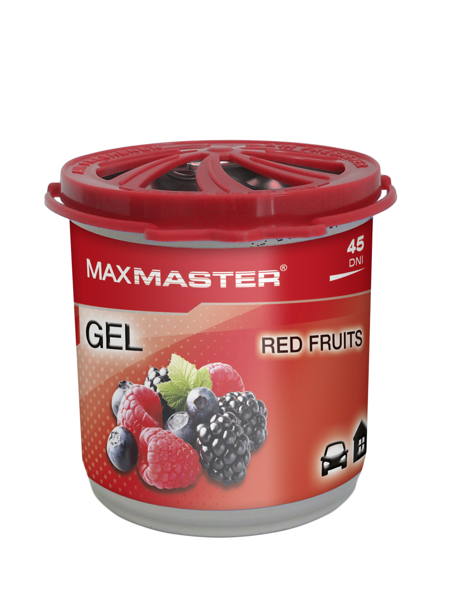 MAXMASTER ZAPACH GEL Red Fruits 160g