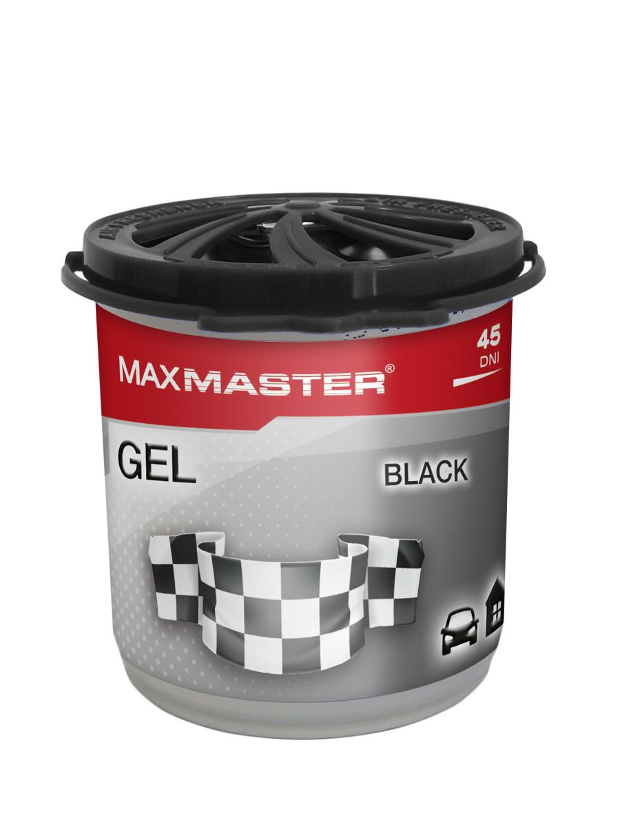 MAXMASTER ZAPACH GEL Black 160g