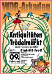 Antikmarkt WDR Arkaden