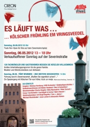 Klscher Frhling verkaufsoffener Sonntag am 06.05.12 auf der Severinstrasse