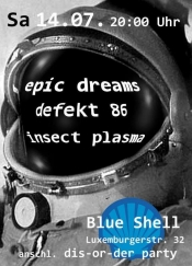 epic dreams + defekt 86 + insect plasma