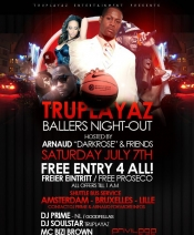 Truplayaz pres. Ballers Night-Out