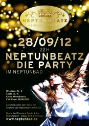 Neptunbeatz 28/09/12 im Neptunbad