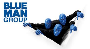 tickets f r programmset f r die blue man group in berlin. Black Bedroom Furniture Sets. Home Design Ideas