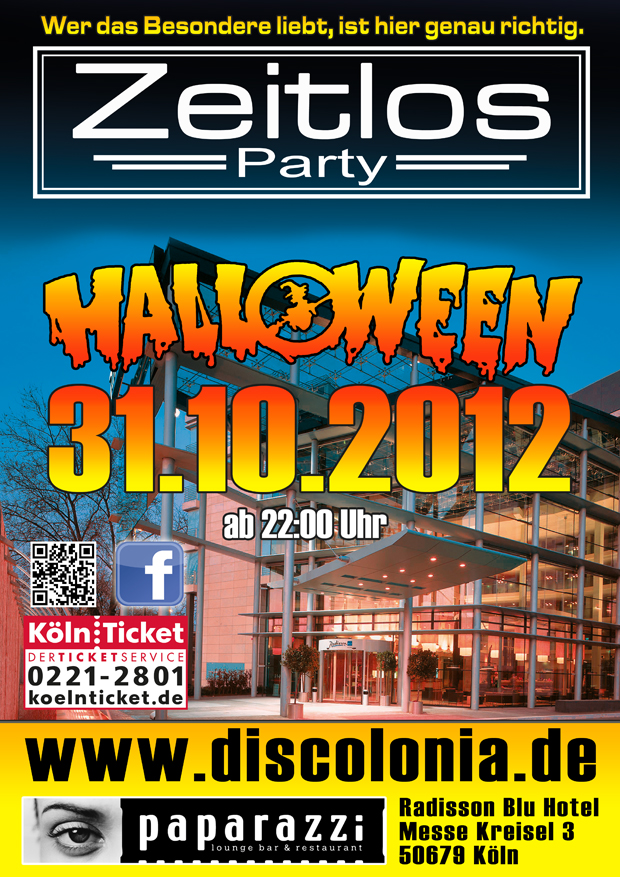 """Zeitlos Party""  Halloween Edition"