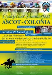 "Lyskircher Sommerfest ""Ascot Colonia"""