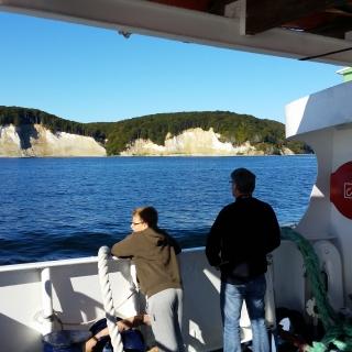 Schifffahrt zu den Rügener Kreidefelsen