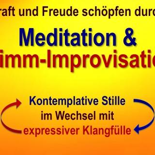 Vokal-Meditation & Stimm-Improvisation im Klangraum-Kunigunde