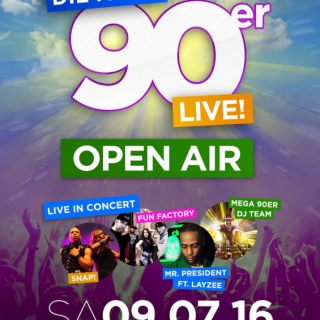 Die Mega 90er Live - Open Air - Kiel