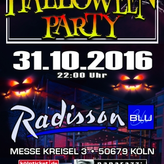 HALLOWEEN PARTY im Radisson Blu Hotel Köln
