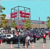 Gebrauchtwagenmarkt am Roland-Center