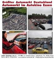 Gebrauchtwagenmarkt im Autokino Essen-Bergeborbeck