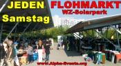 Flohmarkt jeden Samstag WZ-Solarpark