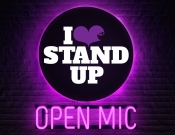 I LOVE STAND UP - Open Mic