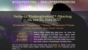 Jetzt Tickets sichern! Großes Musikfestival in Niedergörsdorf