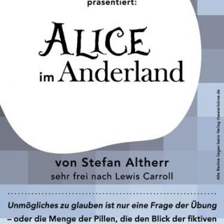 "Theaterstück ""Alice im Anderland"""