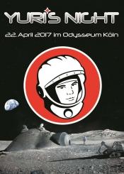 Yuri's Night Köln 2017 - Meet & Greet im HoteLux