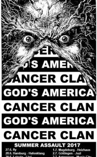 God's America (Grindcore/HC, USA) + Cancer Clan  (Grind/HC/Punk, Potsdam)
